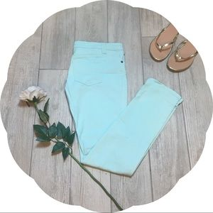 Delia's Turquoise Skinny Jeans